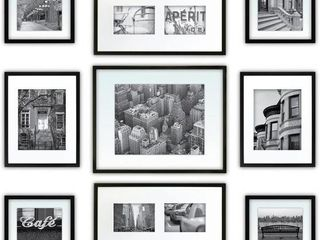9 PCS  GAllERY PERFECT WAll GAllERY KIT