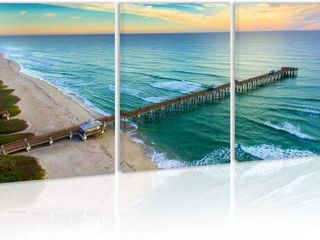 3 PANElS  16 X 24 INCHES  DECOR FOR WAll TROPICAl