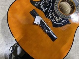 CHIPPED EDGES  ACOUSTIC GUITAR