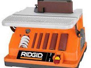 RIDGID OSCIllATING EDGE BElT SPINDlE SANDER