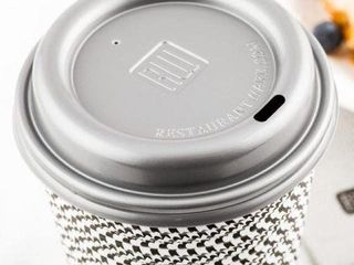 RWA0328GR PlASTIC COFFEE CUP lIDS 500PCS