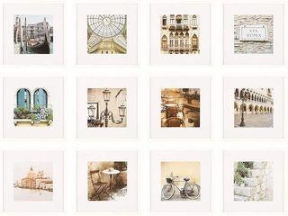 NIElSEN BAINBRIDGE 12 PIECE PICTURE FRAME SET
