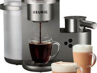 KEURIG K CAFE SPECIAl EDITION NICKEl