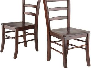 WINSOME WOOD lADDER BACK CHAIR