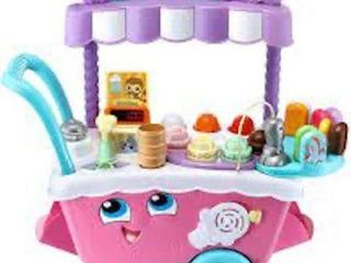 lEAP FROG SCOOP AND lEARN ICE CREAM CART DElUXE