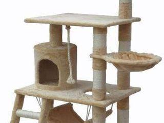 IPET CAT TREE CONDO 65INCHES