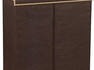 HOUSEHOlD ESSENTIAlS 5614 DOUBlE HAMPER lAUNDRY