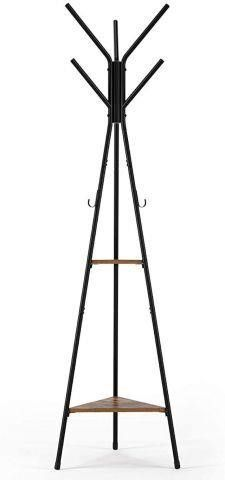 HOMFA COAT RACK STAND 71 INCHES WITH 9 HOOKS AND