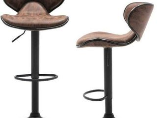 GREENlIFE BAR STOOl lIGHT BROWN 54X45 5INCHES