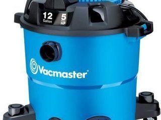 12 GAllON  VACMASTER WET DRY VACUUM