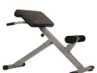 SUNNY HEAlTH AND FITNESS 45 DEGREE HYPEREXTENSION