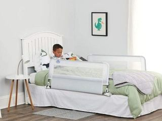 REGAlO BABYH HIDE AWAY DOUBlE SIDED BED RAIl