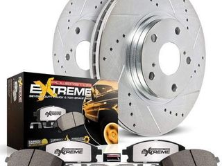 POWER STOP FRONT Z36 TRUCK TOW BRAKE KIT CARBON