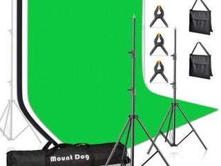 MOUNT DOG PHOTOGRAPHY BACKDROP STAND 10FEET