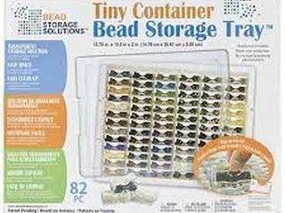 TINY CONTAINER BEAD STORAGE TRAY