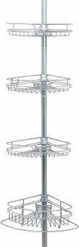 ZENNA HOME SHOWER TENSION POlE CADDY  97 INCHES