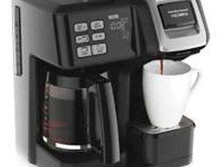 HAMIlTON BEACH FlEX BREW TRIO COFFEE MAKER