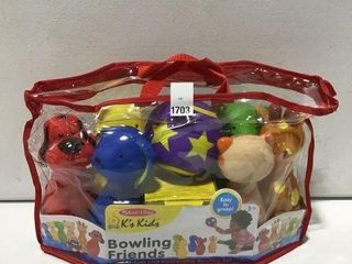 MElISSA AND DOUG BOWlING FRIENDS AGES 2