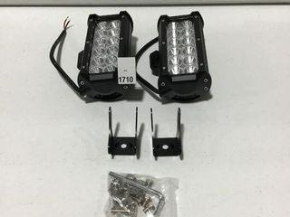NIlIGHT 2 PCS lED lIGHT BAR SIZE 9  X 7  X 4