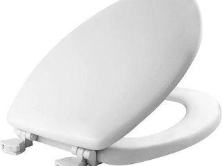 MAYFAIR ElONGATED TOIlET SEAT SIZE 18 9  X 14 1