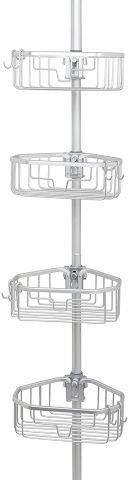 ZENNA HOME SHOWER TENSION POlE CADDY SIZE 11 6  X