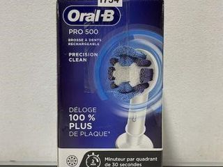 ORAl B RECHARGEABlE TOOTHBRUSH