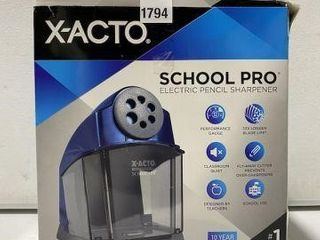 X ACTO ElECTRIC PENCIl SHARPENER