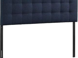 MODWAY lIlY TUFTED lINEN FABRIC UPHOlSTERED