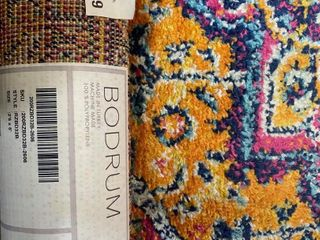 BODRUM AREA RUG APPROX 2 6 X 6 FT
