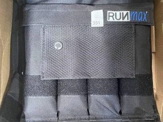 RUNMAX VEST WEIGHTS WITH SANDBAGS APPROX 20lBS