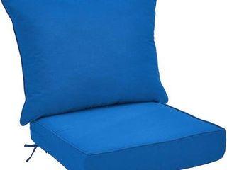AMAZON BASIC DEEP SEAT PATIO CUSHIONS APROX
