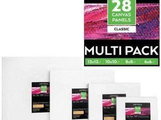 28 PCS CANVAS PANElS ARTEZA MUlTIPACK