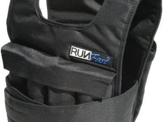 RUNMAX RUN FAST WEIGHTED VEST APPROX 20lBS