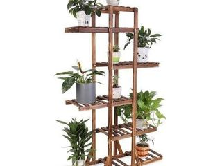 UNHO 6 TIER WOODEN PlANT STAND SJJ96