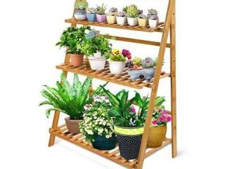 OGARI 3 TIER PlANT STAND APROX 27X15X38 IN