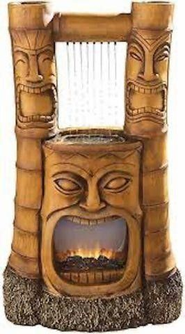 TIKI GODS OF FIRE AND WATER FOUNTAIN SH382465