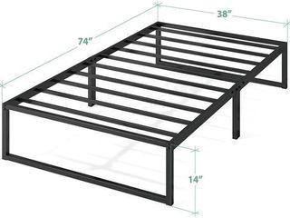 ZINUS OlB SMPB 14T 14 INCH PlATFORMA BED FRAME