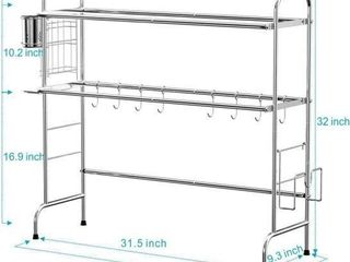 OVER THE SINK DISH DRYING RACK  CAMBOND 2 TIER