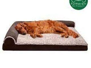 FURHAVEN PET DOG BED  lARGE