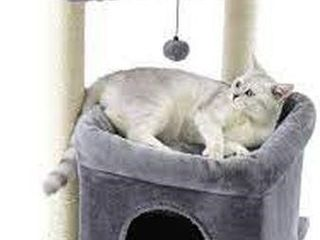 PAWZ ROAD CAT TREE WITH SISAl COVERED SCRATCHING