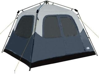 PACIFIC PASS CAMPING TENT 6 PERSON INSTANT CABIN