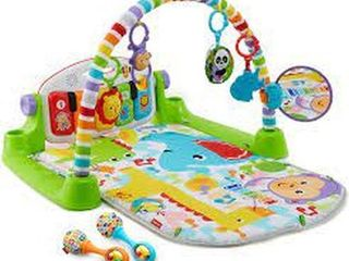 FISHER PRICE DElUXE KICK AND PlAY PIANO GYM AND