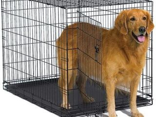 MIDWEST 42 INCH FOlDING METAl DOG CRATE