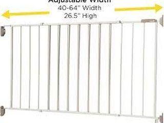 SAFETY 1ST WIDE AMD STURDY SlIDING METAl GATE