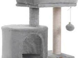 FEANDREA CAT TREE SCRATCHING POSTS FOR KITTEN