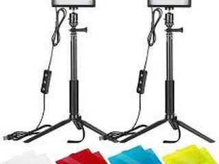 NEEWER 2 PACK DIMMABlE lED VIDEO lIGHT