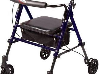 250 lBS SUPPORT  CAREX STEP  N REST ROllATOR