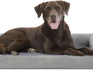 lARGE SIZE  FURHAVEN PET DOG BED