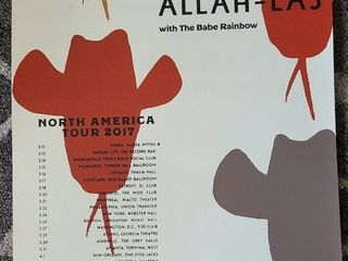 Allah las lithograph  Record Bar