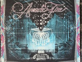 The Arcade Fire lithograph